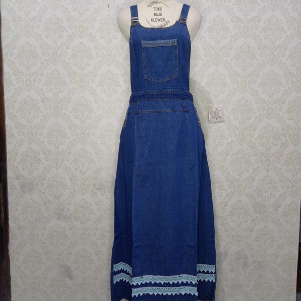 Overall Jeans Rok